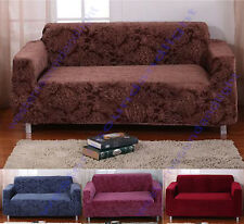 Jacquard Elastic Stretch Lounge Couch Sofa Covers Slipcover 1 2 3 4 Seater