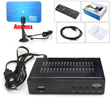 USA 1080P Digital ATSC Receiver + DVB-C Clear QAM Cable TV Tuner 8VSB Converter