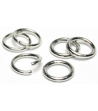925 Sterling Silver 4.8mm Round Open Jump Rings Wholesale 500, 1000 & 1500