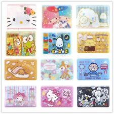 SANRIO KITTY MELODY LITTLE TWIN STARS CINAMOROLL POCHACCO PVC CARD HOLDER 2524