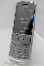 LG GD710 - Shine II - Silver - (AT&T) - 3G Cellular Slider Phone - 2MP - Clean