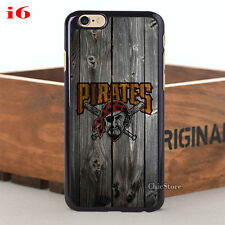 Chic MLB Pittsburgh Pirates Baseball Team Case Cover For iPhone & Samsung Series