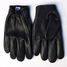 Women's Kevlar-Lined Leather Motorcycle Gloves (Black) - Free Shipping (USA) !!!
