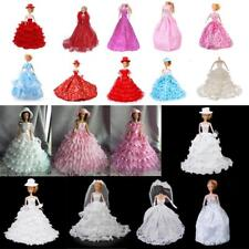 Fashion Wedding/Party Princess skirt for Barbie Doll Complete Look Dress Up ACCS