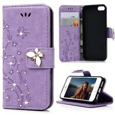 For Apple iPhone 8 5s 6s 7 Plus Flip Magnetic Luxury Wallet Leather Case Cover