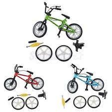 Stylish Finger Bike Bicycle w/ Spare Tires Tools Boys Toy Creative Game Gift