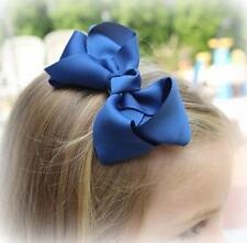 Hair Bows, Girls Bows, Boutique Hairbows, Lot Set of 10 bows, Single Layer bow,