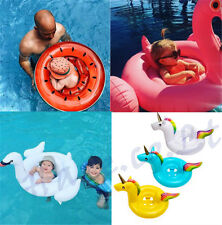 Baby Kids Float Seat Boat Inflatable Swim Swimming Ring Pool Water Fun PVC