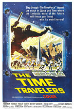 The Time Travelers Movie Poster Print - 1964 - Science Fiction - 1 Sheet Artwork