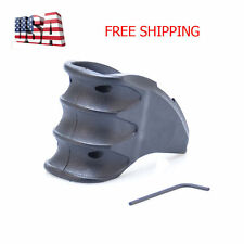 Tactical Foregrip Finger Grooves Well Ergonomic Grip Handle Polymer Color Black