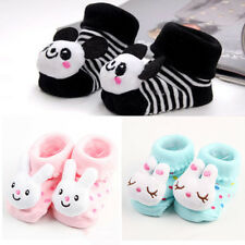 Trendy Newborn Baby Girl Boy Anti-slip Socks Slipper Shoes Boots 0-6 Months