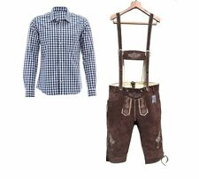 Authentic Bavarian Lederhosen/Breeches Trachten German Costume for Oktoberfest