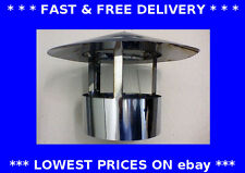 Roof cowl, chimney cap, ducting, rain hat, hood, stainless steel flue pipe