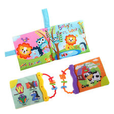 Educational Intelligence Development Soft Cloth Cognize Book Toy for Baby