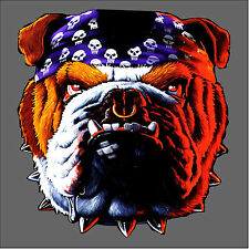 T-Shirt Bulldog Biker Dogs Bulldog 4157