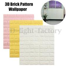 3D Brick Pattern Wallpaper Modern Wall Background TV Bedroom Living Room Decor N