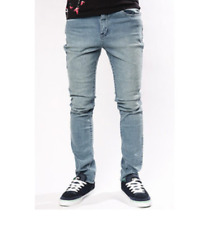 EMERICA SKELTER SLOUCH FIT JEANS BLUE WASH PANTS CLEARANCE FREE POST AUSTRALIA