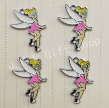 Lot Tinker Bell Jewelry DIY Making Metal Charms Pendant
