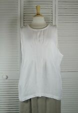 Nuance Flax Linen Tunic Tank in 22 Colors S M L XL by Blue Fish Red Moon