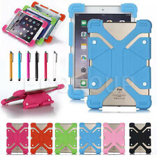 "US For 10"" 10.1"" inch Tablet Universal Adjustable Cover Shockproof Silicone Case"