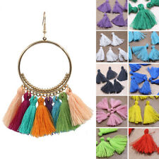 10PCS Mini Tassels Crafts Bohemian Boho Sewing Jewellery Making 10 Colours