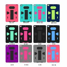 Shock Proof Silicone + Plactic Cover case for New iPad pro 9.7 ipad air mini 4