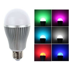 E27 9W RGB LED Light Milight WiFi Controller For iOS Android Warm White Easy