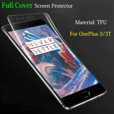 Full Cover Soft TPU Front Rear Screen Protector Film Guard For OnePlus 3 /3T Lot