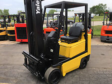 YALE CUSHION GLC040 4000LB FORKLIFT LIFT TRUCK