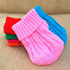 XXXS Dog Sweater Pet Puppy Hoodie Warm Clothes for cat Chihuahua Teacup yorkie