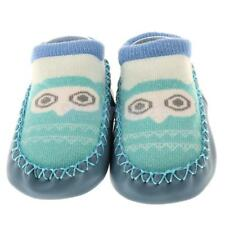 Newborn Baby Anti-Slip Socks Slipper Shoes Boots 0-12 Month Owl Shoes Cute