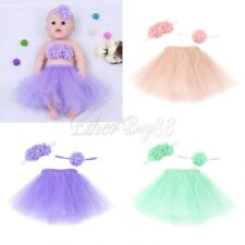 Newborn Baby Photography Props Infant Tutu Tulle Skirt Newborn Costume Bow-Knot