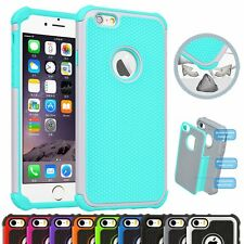 Hybrid Shockproof Back Rugged Rubber PC Hard Case Cover for iPhone6 4.7&6s Plus