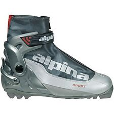 NEW ALPINA S COMBI 5039-1 CROSS COUNTRY NNN SKI BOOTS - 50 - Men's 15