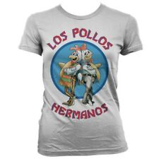 Breaking Bad Official Licensed Los Pollos Hermanos Girly T-Shirt