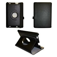 """CASE COVER PU LEATHER 360 DEGREE ROTATING IN BLACK FOR AMAZON KINDLE HDX FIRE 7"""""""