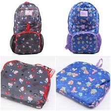 SANRIO HELLO KITTY LITTLE TWIN STARS TRAVEL VOYAGE FOLDABLE NYLON BACKPACK