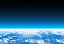 Earth Atmosphere & Clouds - Space Poster Print - Space Photo - NASA Photo Art
