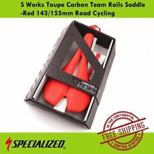 Specialized S Works Toupe Carbon Team Rails Saddle (143155mm) For Road Cycling
