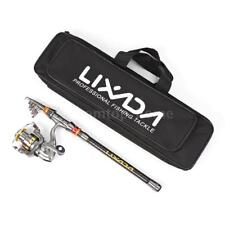 Portable Fishing Rod And LE3000 Reel Combo Kit Spinning Reel Pole Set M7R3