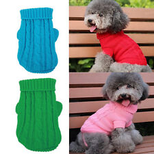Teacup Dog Clothes Dog Sweater Pet Puppy Hoodie Coat for Chihuahua yorkie Dog
