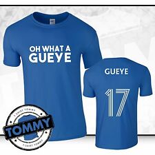 Everton Oh What a Gueye T-Shirt Idrissa Gueye Toffees Everton