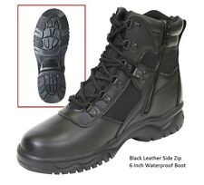 "WATERPROOF 6"" Tactical Boots BLOOD PATHOGEN Military SWAT Army Medic HM EMT USMC"