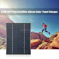 Black 12V Polycrystalline Silicon Solar Panel Kit Charging powerbank Useful H2A5