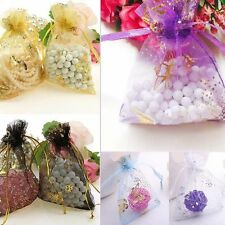 Lots 25/50/100pcs Butterfly Organza Gift Bags WEDDING Party Favour Candy Pouch