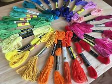 Embroidery Floss, Cross Stitch Floss, Cross Stitch Thread, Skeins Lots of Colors