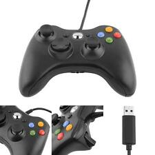 New Wired USB Game Pad Controller For Microsoft Xbox 360 PC Windows 7 8 10 XP #M