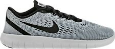 Nike Free RN GS Youth Size Running Training Comfort Shoe White Black 833989 100