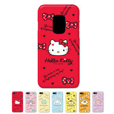 Hello Kitty Characters Protect Slim Hard Bumper Cover Case For Samsung Galaxy S5