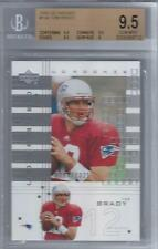 2000 Tom Brady Upper Deck UD Graded RC- BGS 9.5 Gem Mint... Only 1325 made